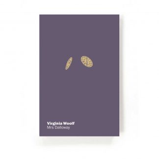Cover for the Gladstone Press edition of Mrs Dalloway by Virginia Woolf