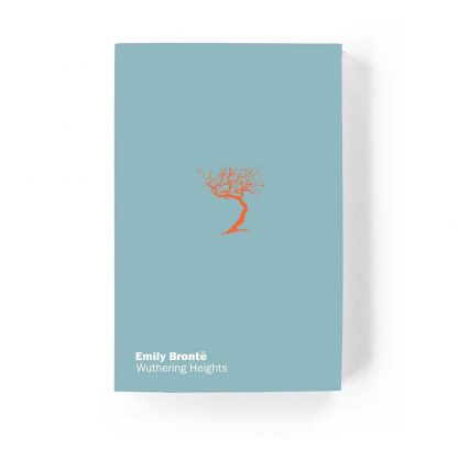 Front cover design for the Gladstone Press edition of Wuthering Heights by Emily Brontë
