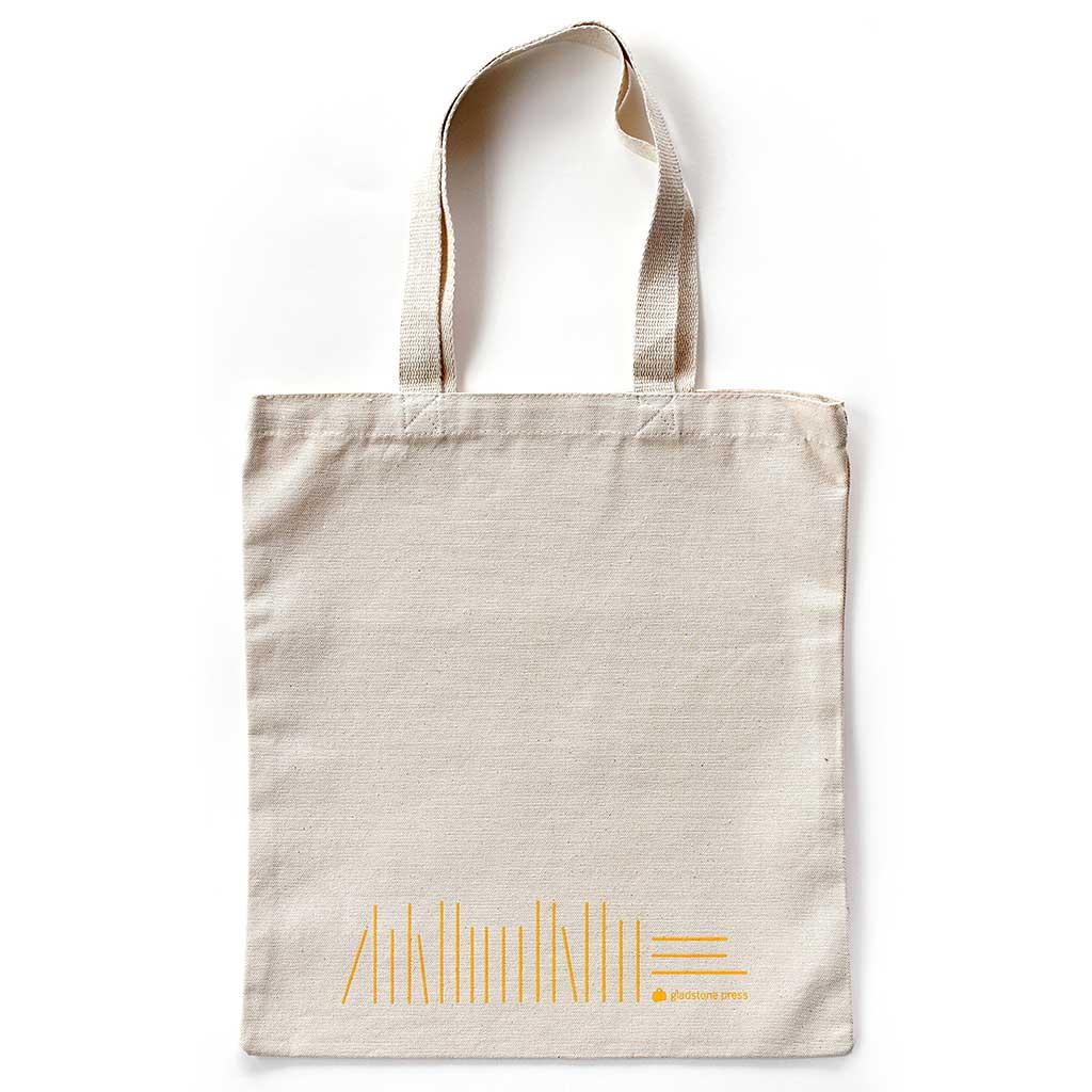 TBR tote bag from Gladstone Press